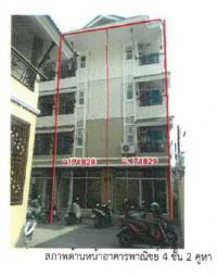 หอพัก/อพาร์ทเมนท์หลุดจำนอง ธ.ธนาคารกรุงไทย พิษณุโลก เมืองพิษณุโลก ท่าโพธิ์